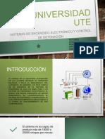 Sistemas de Encendido Electrónico y Control de Detonación