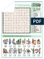Jobs and Professions Puzzles Crosswords Fun Activities Games Information Gap Ac 85054