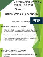 Tarifacion y Regulacion Sectorial Electrica Tema 1