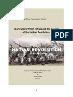 SBA HATIAN REVOLUTION