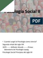 Clase I Psicología Social I. Introducción