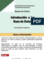 Introduccion a Bases de Datos