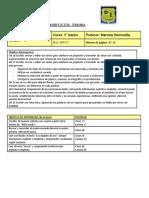 Resumen Planificacion Mayo Lenguaje Segundo