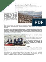 Oleadas de Basura Llegan a Las Playas de República Dominicana