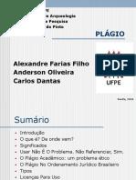 Seminário de Pesquisa_Plágio