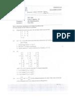 Linear Algebra-II , p 1-2 f 16