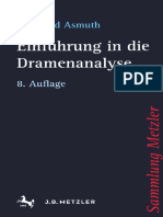 (Sammlung Metzler) Bernhard Asmuth (Auth.)-Einführung in Die Dramenanalyse-J.B. Metzler (2016)
