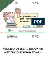 Proceso de Legalizacion