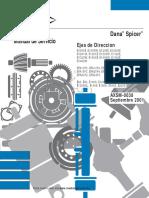 Manual Ejes de Direccion 2001