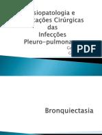 Infecções pleuro-pulmonares