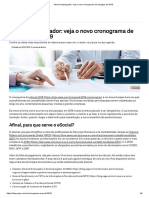 ESocial Empregador_ Veja o Novo Cronograma de Entregas de 2019