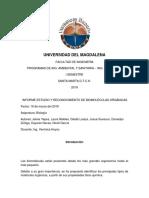Universidad Del Magdalena Informe Biomoleculas