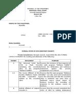 Formal Offer of Evidence (1)