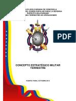 Concepto Estratégico Militar Terrestre
