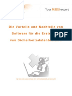 Die Vorteile und Nachteile von Software für die Erstellung von Sicherheitsdatenblättern