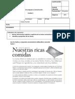 Evaluación Unidad Noticia y Instrucciones