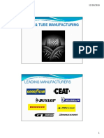 Tyre Manufacturing