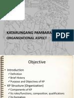 Organizational Aspect