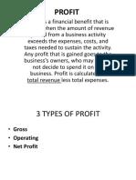 Profit Ppt