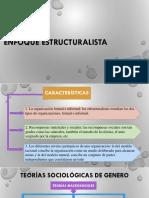 Teorias Estructuralista y Sociologica de Genero