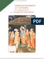Acontecimientos Esotéricos del 13 de Marzo en el Aniversario 23 de la Escogida del Camino Directo.pdf
