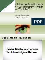 Social Media Forensics