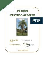 Informe Censo Arboreo para obtener permiso de corta