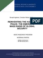 REINVENTING THE KANTEAN PEACE - THE EMERGING MASS BASIS OF GLOBAL SECURITY by Ronald Inglehart, Christian Welzel, Bi Puranen (2013).pdf