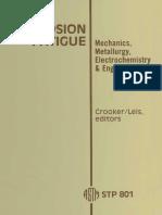 ASTM - STP 801 Corrosion Fatigue