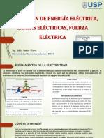 1. Semana 01 Cargas Eléctricas Fuerza Eléctrica