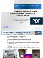Pruebasnodestructivassobreestructurasenconcretoarmadomamposteraymaterialesptreos