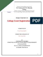 College Event Registration