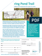 DNR Rearing Pond Fund Fact Sheet