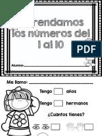 1 Al 10 Cuadernillo
