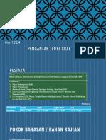 1 Pengantar Teori Graf [TM 1]
