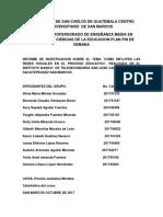 UNIVERSIDAD DE SAN CARLOS DE GUATEMALA CENTRO UNIVERSITARIO  DE SAN MARCOS PROFERSORADO DE ENSEÑANZA MEDIA EN PEDAGOGIA Y CIENCIAS DE LA EDUCACION PLAN FIN DE SEMANA.pdf