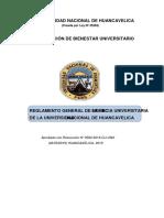 Reglamento Residencia Universitaria de La Unh Para La Presentacion de Modificacion