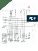 Diagrama de Cableado Suzuki AX 100