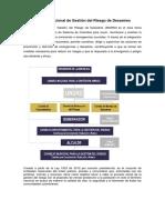 Sistema Nacional de Gestión Del Riesgo de Desastres