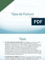 Tipos de fluor