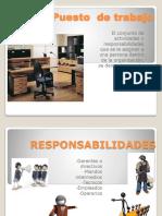 Diapositivas Del Puesto de Trabajo