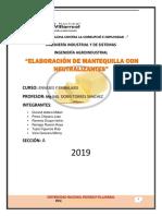 Elaboracion de Mantequilla Con Neutralizante Envases