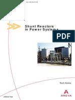 Shunt Reactor Sizing