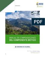 Manual de Compensaciones del Componente Biótico 2018.pdf