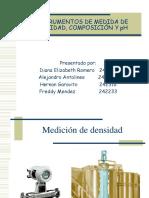 Instrumentos de Medida de Densidad, Composición y2