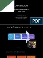 Betalactamicos Amoxi-clavulanico Veronica Medina Arevalo