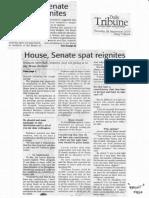 Daily Tribune, Sept. 26, 2019, House Senate spat reignites.pdf