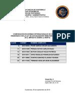 Trabajo Grupo 6 Comparación Niif y Nic vs Isr