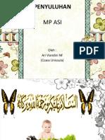 Penyuluhan MP ASI