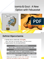 1. Hyperuricemia and Gout - A New Treatment Option